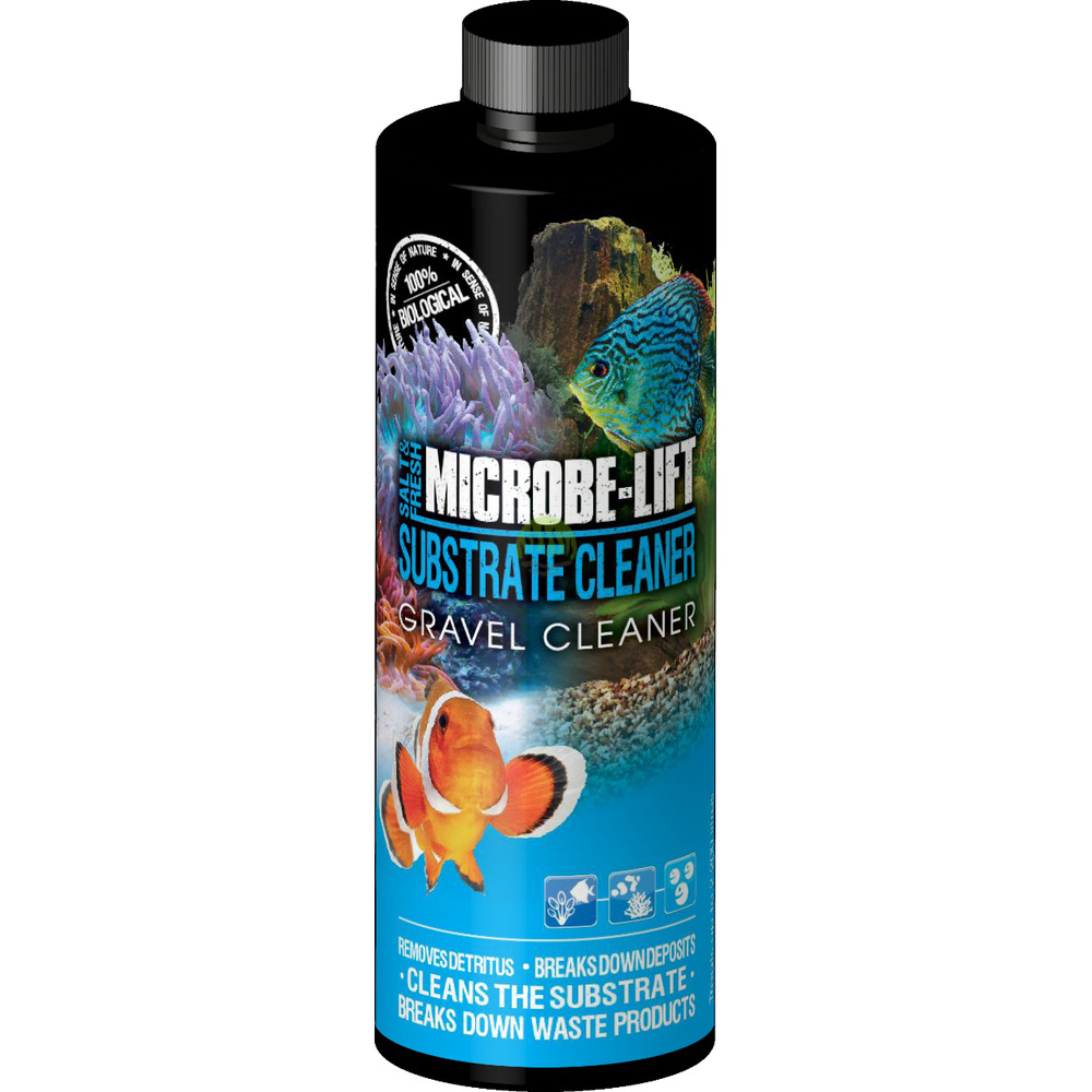 Microbe-Lift Gravel & Substrate Cleaner [118ml] - odmulacz w płynie