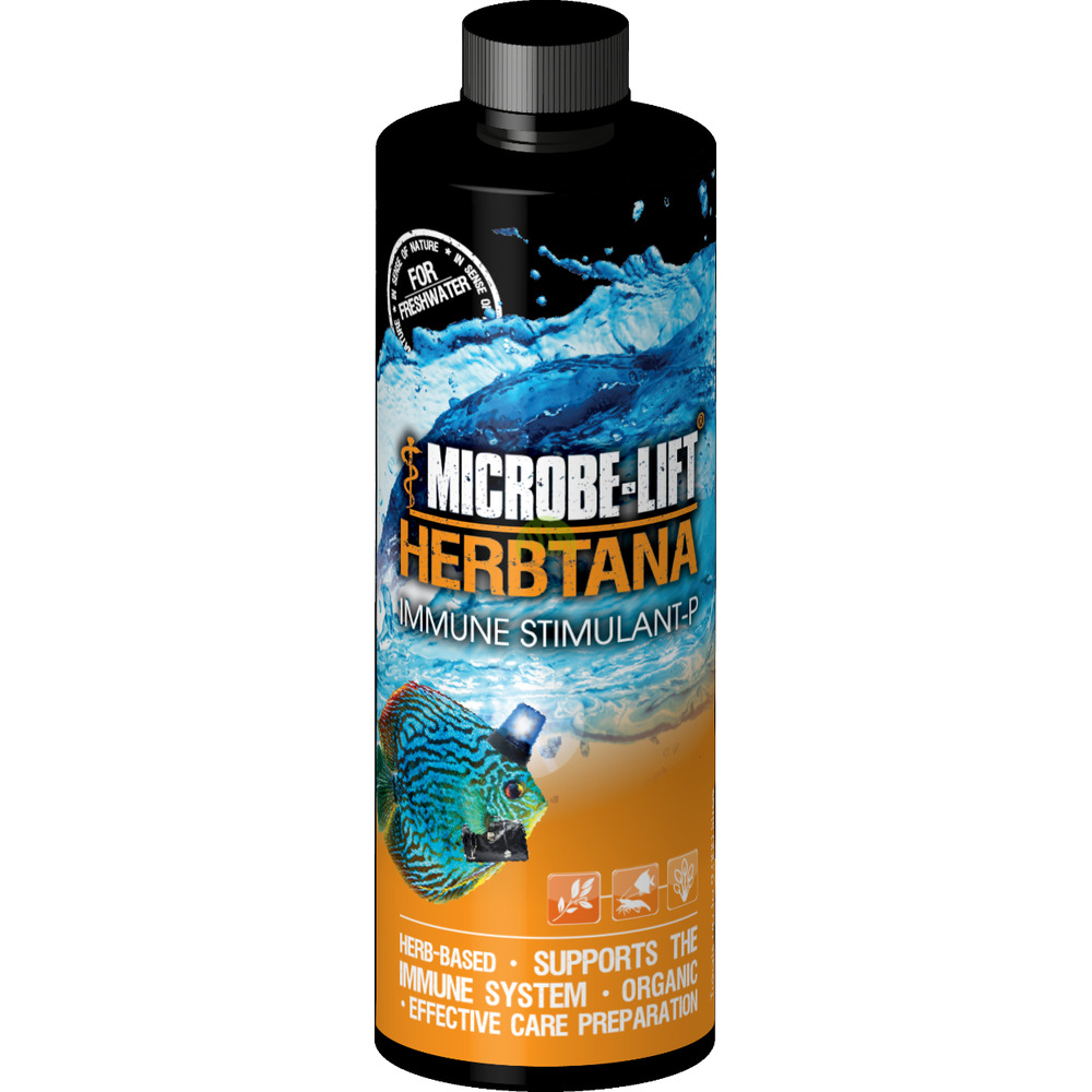Microbe-Lift Herbtana Freshwater [236ml] - na ospę i pasożyty.