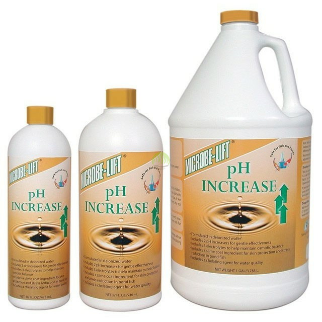 Microbe-lift PH Increase [236ml] - podnosi pH w oczku