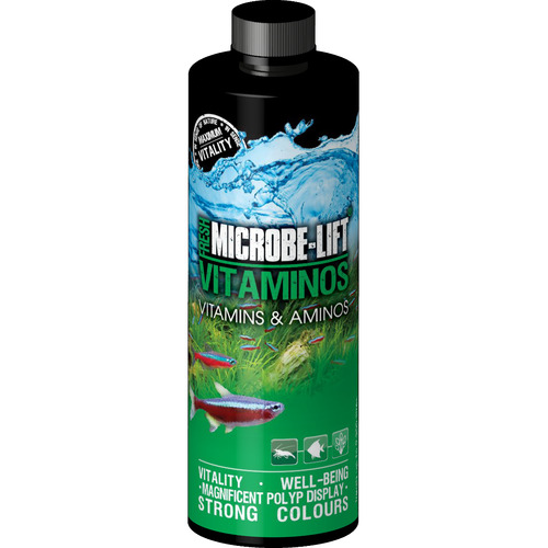 Microbe-Lift Vitaminos Freshwater (Vitamins & Amino Acids) [236ml]