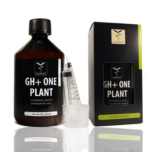 Mineralizator QualDrop GH+ ONE PLANT [500ml] - mineralizator RO dla roślin