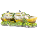 MINI-CRUISER-SHIP - Wrak statku PROM 19,5x7,5x8cm