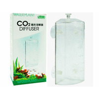 Narożny dyfuzor CO2 ISTA - plastikowy dzwon do rogu akwarium