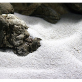 Naturalny piasek 0.1-0.3mm [2kg] - śnieżnobiały