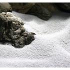 Naturalny piasek 0.1-0.3mm [2kg] - śnieżnobiały 0/0