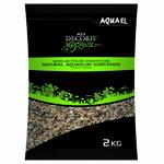 Naturalny żwir Aquael 1.4-2mm (10kg) - wielobarwny