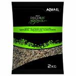 Naturalny żwir Aquael 1,4 - 2 mm [2kg] - wielobarwny