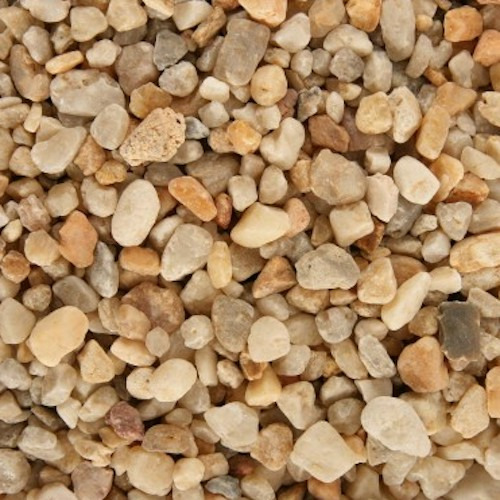 Naturalny żwir Aquasand Nature [5kg - 3.5l] - kwarc gruboziarnisty