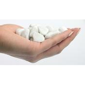 Naturalny żwir biały GRAVEL Carrara White [2kg] - biały, gruby (12-16mm)