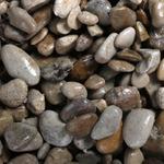 Naturalny żwir brytyjski GRAVEL British Brown [10kg] - jasny, gruby, 4-8mm