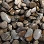 Naturalny żwir brytyjski GRAVEL British Brown [2kg] - jasny, gruby (4-8mm)