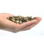Naturalny żwir ciemny GRAVEL Dark Coarse [10kg] - ciemny, gruby (3-6mm)