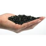 Naturalny żwir czarny GRAVEL Vulcano [10kg] - czarny, drobny (2-5mm)