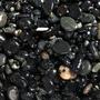 Naturalny żwir czarny GRAVEL Vulcano [2kg] - czarny, gruby (4-8mm)