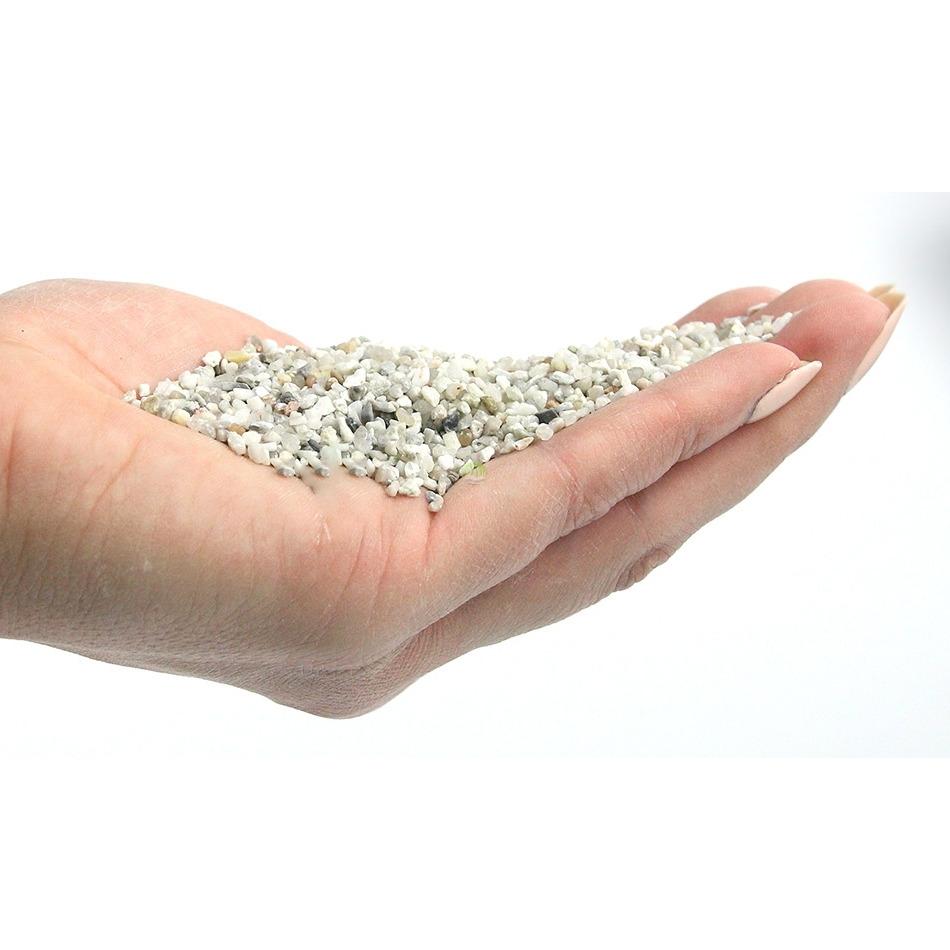 Naturalny żwir jasny GRAVEL Light Fine [2kg] - jasny drobny (1-2mm)