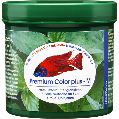 Naturefood premium color plus medium M [55g]