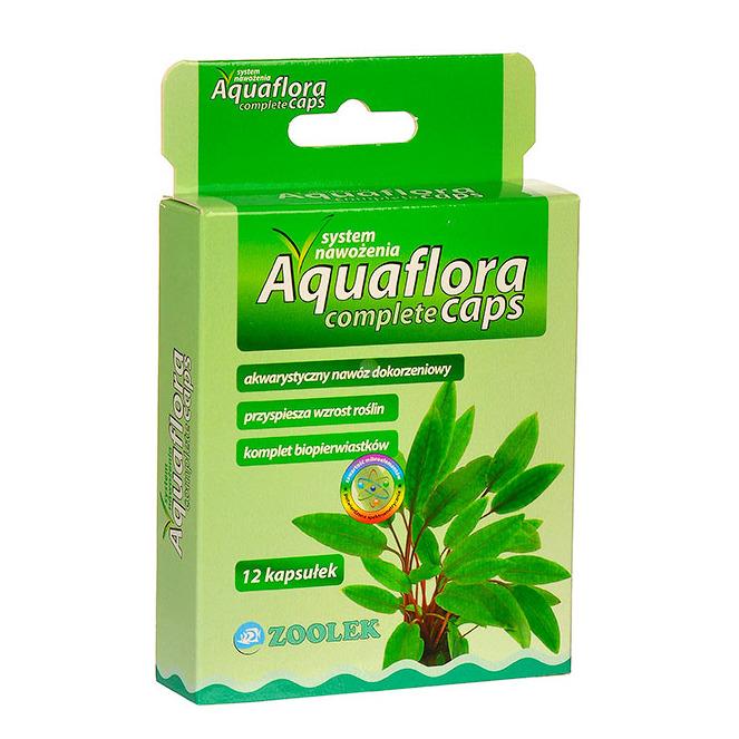 Nawóz Zoolek Aquaflora COMPLETE CAPS [12 szt.] - NPK + mikroelementy