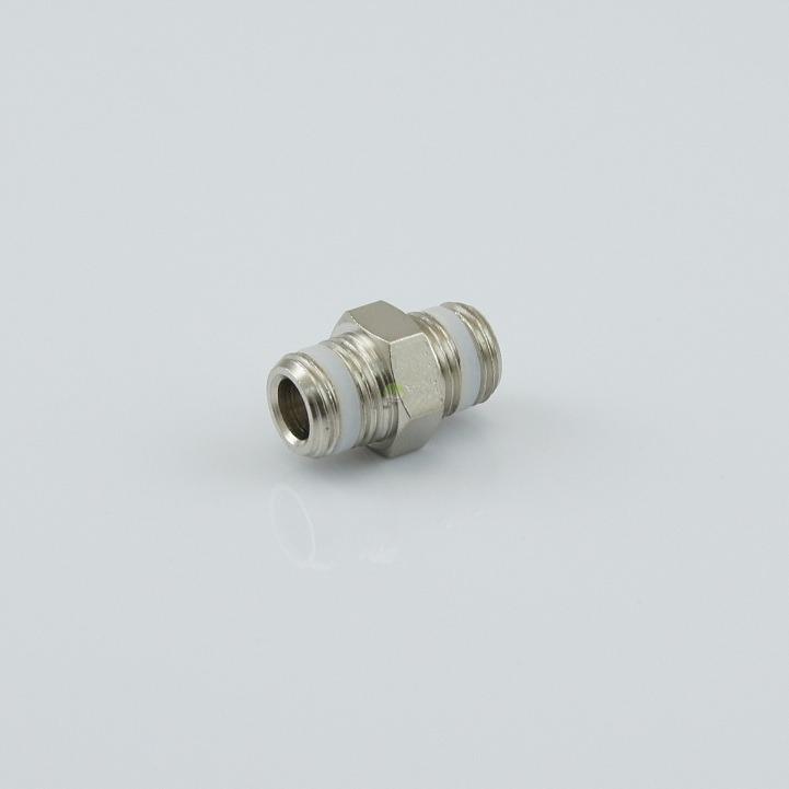 Nypel CO2 [1/8 - 1/8] cala z uszczelnieniem [standardowy]