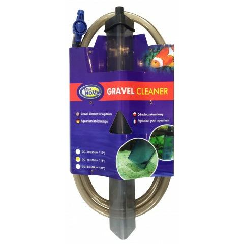 Odmulacz akwariowy z zaworem tuba GC-18 [45cm]