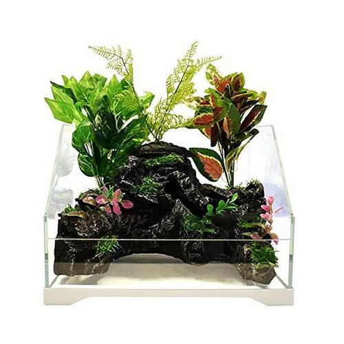 Paludarium SunSun [30l] - zestaw z wodospadem i oświetleniem