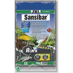 Piasek JBL Sansibar BLACK 0.2-0.5mm [10kg] - czarny