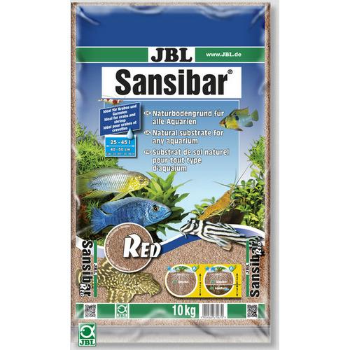 Piasek JBL Sansibar RED 0.2-0.6mm [10kg] - czerwony