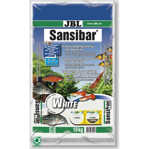 Piasek JBL Sansibar WHITE 0.1-0.5mm [10kg] - biały