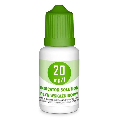Płyn wskaźnikowy do indykatorów 20mg/l [10ml]