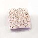 Płytka ceramiczna do szczepienia mchów [40x40mm] - kremowa