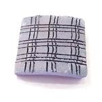 Płytka ceramiczna do szczepienia mchów [40x40mm] - szara