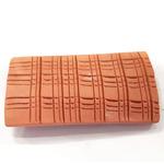 Płytka ceramiczna do szczepienia mchów [80x40mm] - ceglana