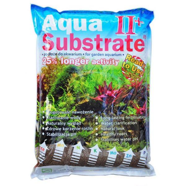 Podłoże Aqua Substrate II+ [5.4kg/6.07l] - brązowy