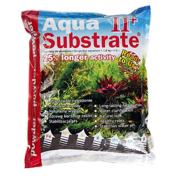 Podłoże Aqua Substrate II+ POWDER (brązowy granulat) [1.8kg/2l]