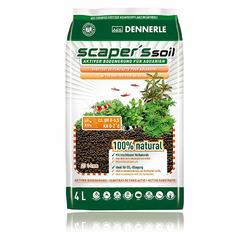 Podłoże DENNERLE Scaper's Soil BLACK [4l] - kolor czarny