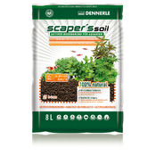 Podłoże DENNERLE Scaper's Soil BLACK [8l] - kolor czarny