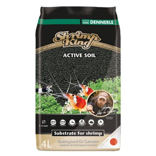 Podłoże DENNERLE Shrimp Soil [4l] - dla krewetek
