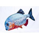Poduszka Pirania czerwona [47cm] - zabawka pluszowa