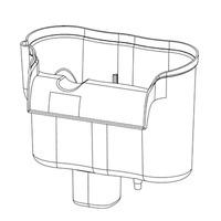 Pojemnik do filtra kaskadowego Aquael FZN-3 (100349)