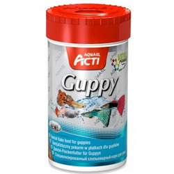 Pokarm Acti Guppy [100ml] - dla gupików i żyworódek