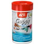 Pokarm Acti Guppy [100ml] Multi - Pokarm dla gupików i innych ryb żyworodnych.