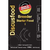 Pokarm DiscusFood Breeder Starter Food I [500g] - granulat