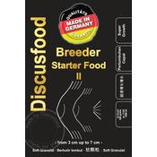 Pokarm DiscusFood Breeder Starter Food II [500g] - granulat