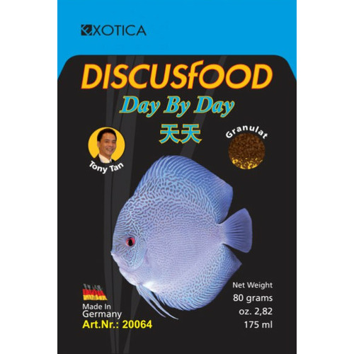 Pokarm DiscusFood Day by Day [80g] - granulat