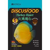 Pokarm DiscusFood Turkey Heart Soft [80g] - granulat