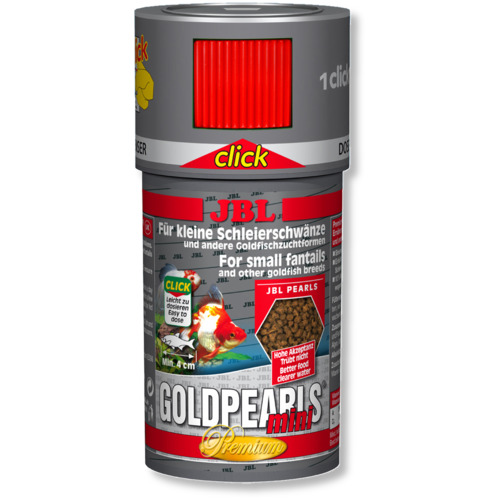Pokarm JBL GoldPearls CLICK [250ml] - dla złotych rybek