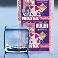 Pokarm mrożony DISCUS MIX - Serce wołowe + Indycze [100g] - odbiór osobisty