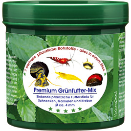 Pokarm Naturefood Grünfutter-Mix [60g] - dla krabów, raków, krewetek, ślimaków
