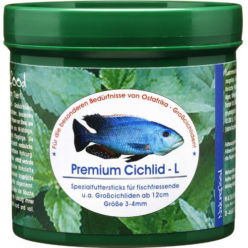 Pokarm Naturefood Premium Cichlid L [280g] - dla pielęgnic