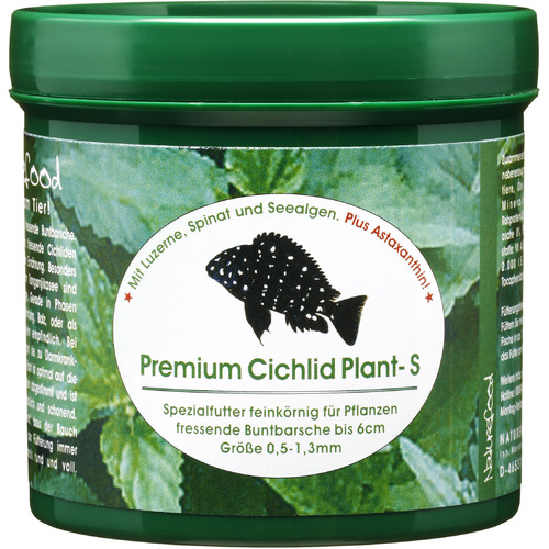 Pokarm Naturefood Premium Cichlid Plant S [95g] - dla pielęgnic