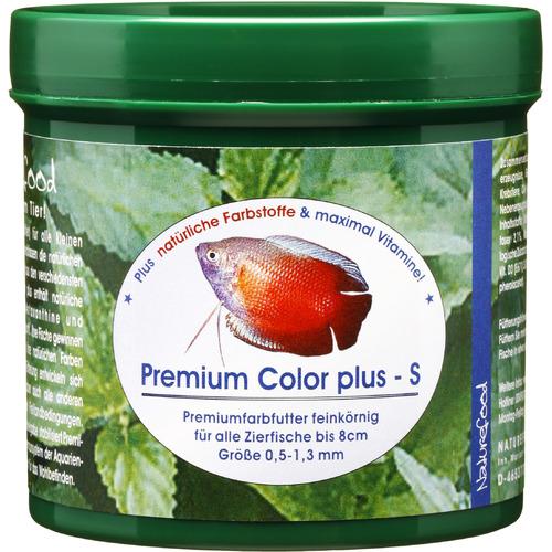 Pokarm Naturefood Premium Color Plus S [50g] - wybarwiający